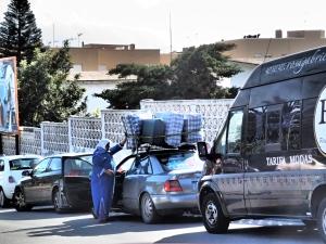 Omaisuus auto katolla Tarifassa