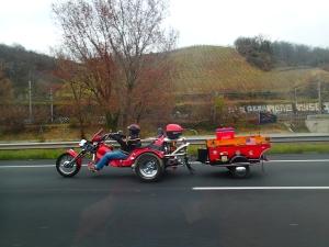 Ranskan moottoritiellä